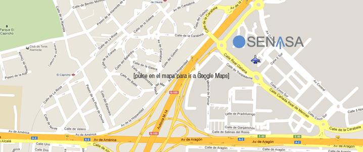 Ver la ubicacion de SENASA en MADRID