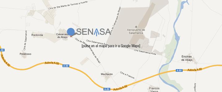 Ver la ubicacion de SENASA en SALAMANCA
