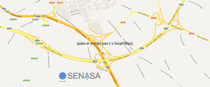 Ver la ubicacion de SENASA en OCAÑA